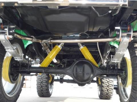 ホーシング逆付&車高調整付きスプリング