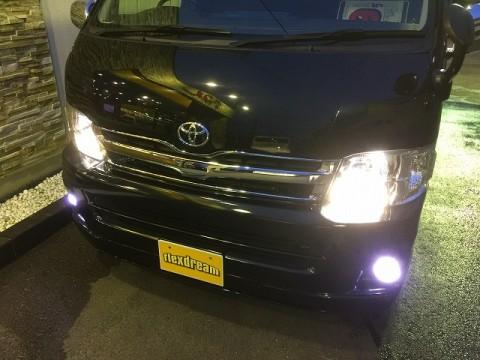 HIDヘッドライト&LEDフォグ&ポジション灯