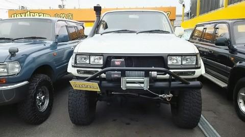 ランクル80白ガスマニ