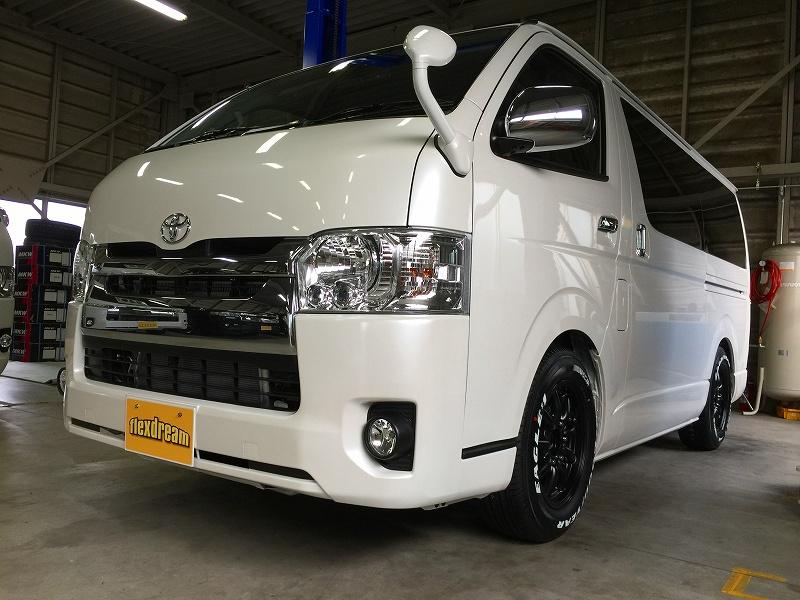 新車ハイエースバンS-GL