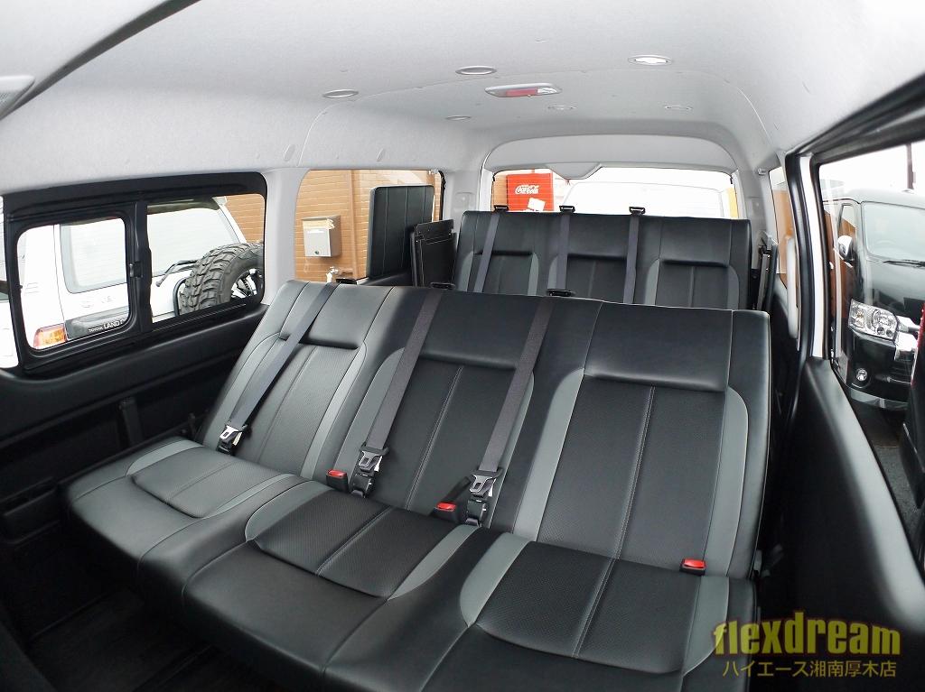 車中泊にも使えるフルフラット可能な3列シートワゴンFD-BOX3T