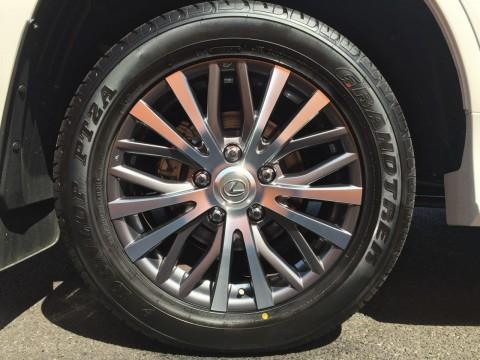 28550R20タイヤ&アルミホイール (切削光輝)