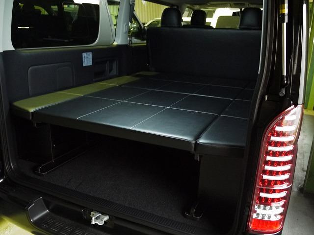 ハイエース200系バン S-GL ナローボディー用ベッドキット
