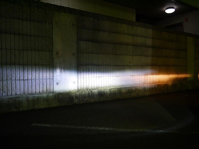 段違いの明るさのIPFフォグバルブ