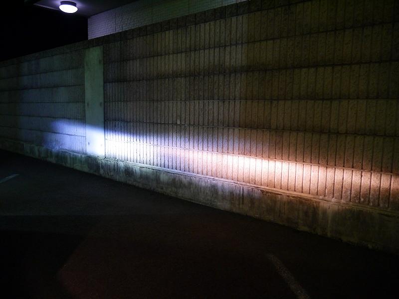 純正フォグとIPF:LEDフォグとの比較