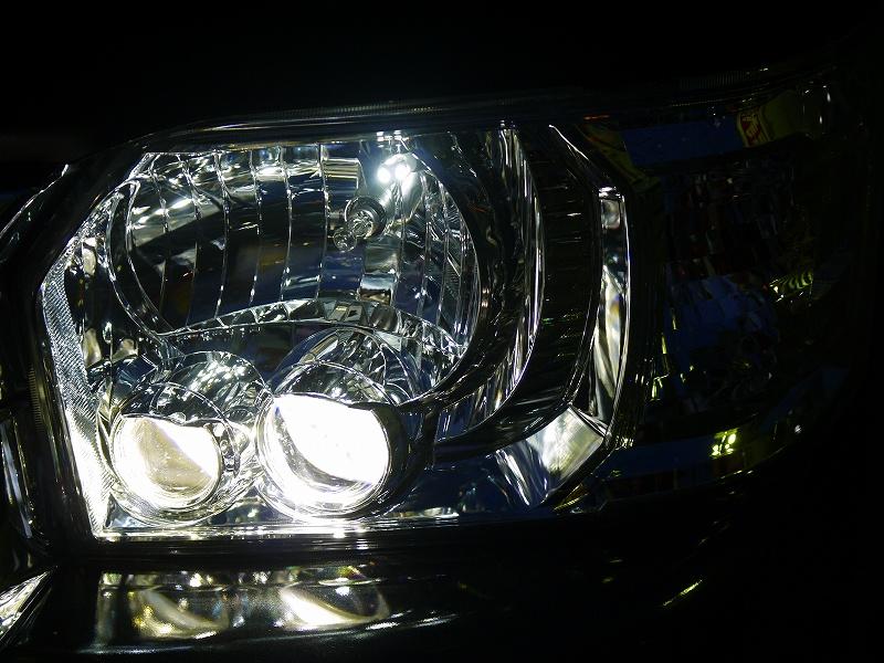 LEDポジション&LEDヘッドライト