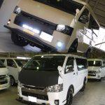 ハイエース200系ワゴン・バンのLINE-Xカスタム