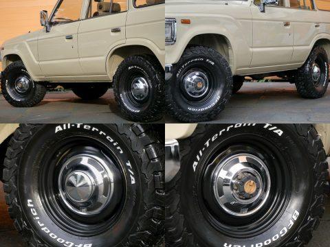 ランクル60 タイヤ