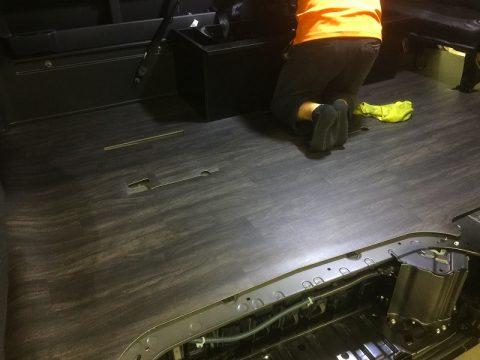 LINES床張りキット:シート・ベッド復旧