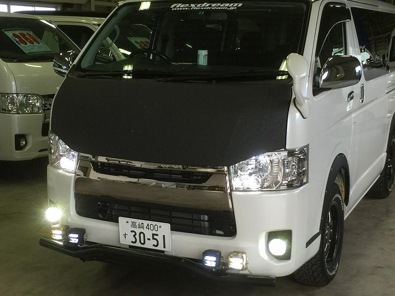 高崎店デモカー×IPF2インチドライビングランプ