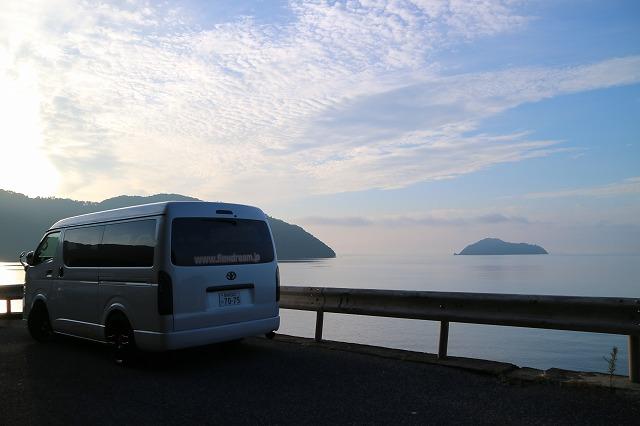ハイエース小牧店デモカーにて琵琶湖へバス釣り日記 (34)