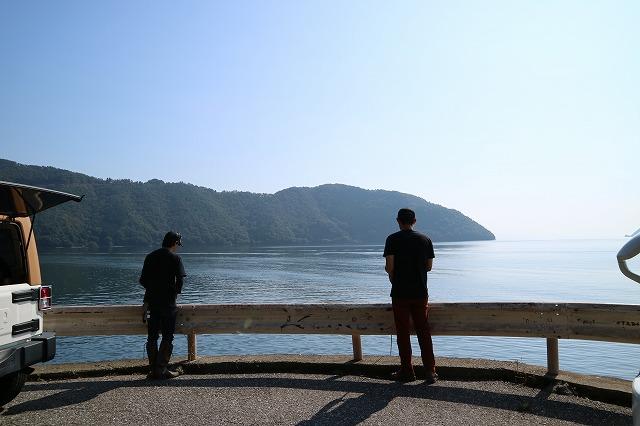 ハイエース小牧店デモカーにて琵琶湖へバス釣り日記 (63)