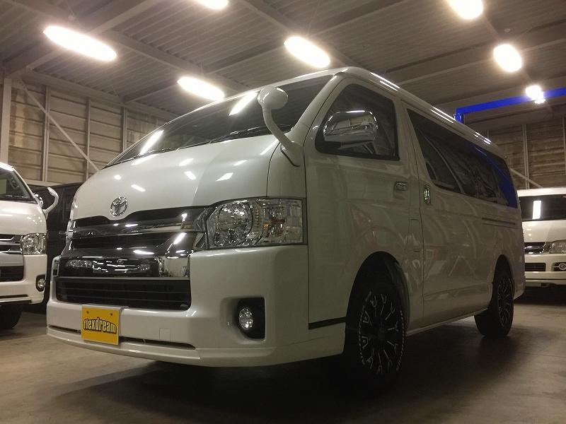 新車ハイエースワゴンGL 4WD