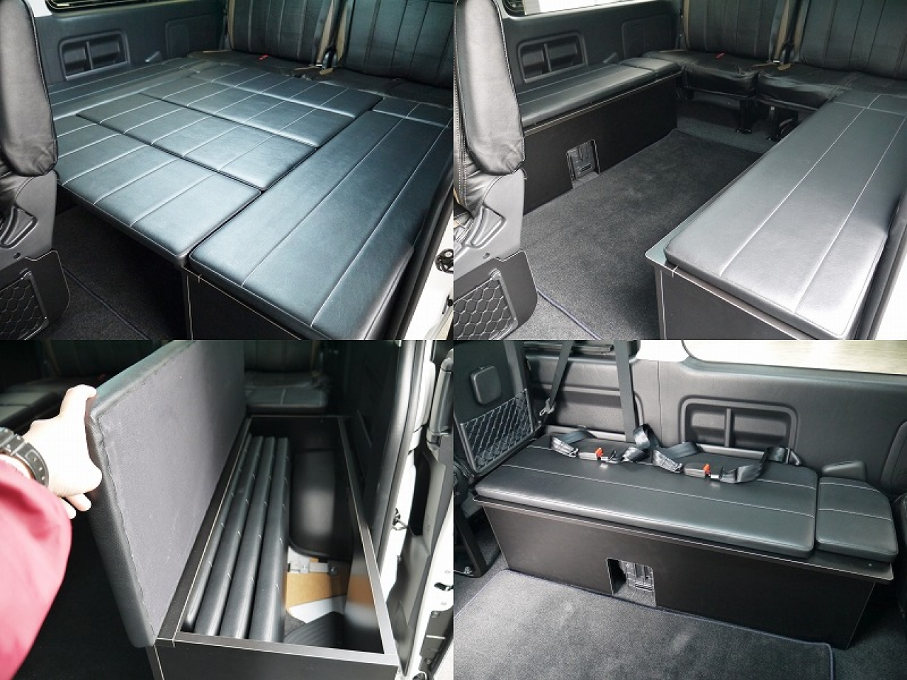 ワゴン用FD-BOXベッドキット2016