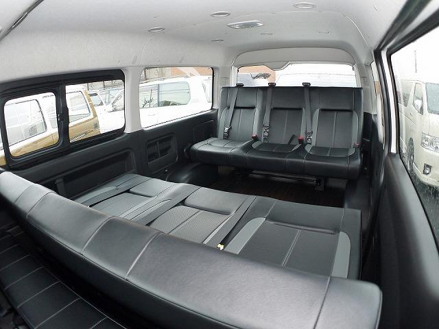 ハイエース200系ワゴン_横向き規制対応_後ろ向きシート_対面シート_FD-BOX3