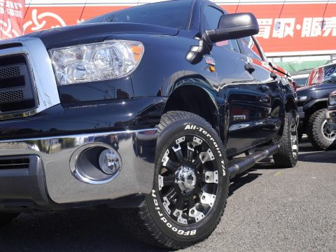 タンドラをさらにカッコよく、おすすめアルミホイール&タンドラ クルーマックス 2012年モデルご納車!