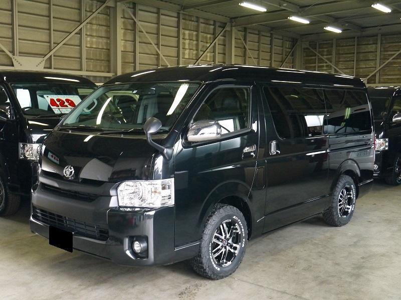 S様新車ハイエースW FD-BOX3Tご納車