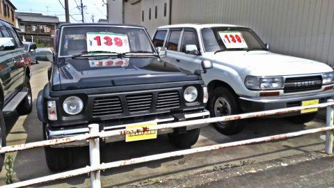 ランクル80VSサファリY60