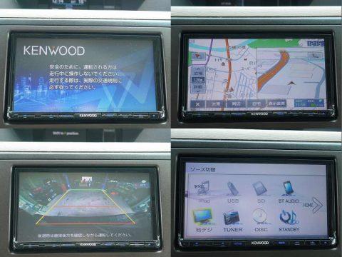 KENWOOD MDV-D502BT フルセグ地デジナビ ブルートゥース&バックカメラ連動