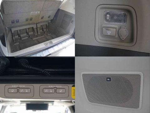 電動格納シート JBLサウンドシステム シガー電源
