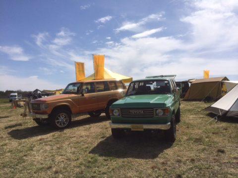 ランクル60・オレンジ&グリーン