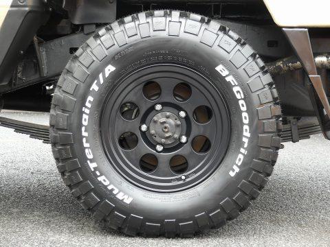 BFグットリッチMTタイヤを新品装着致しました♪
