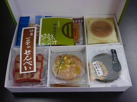 一茶のせんべい 仙台銘菓 せんべい 日本