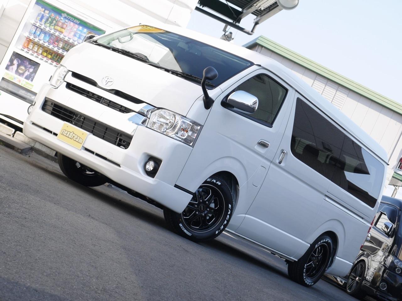 新車ハイエースワゴン GL 4WD ホワイトパール