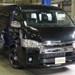 新車ハイエースワゴン GL 4WD FD-BOX2T後ろ向き