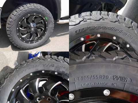 FUEL CLEAVER BFGoodrich All-Terrain KO2