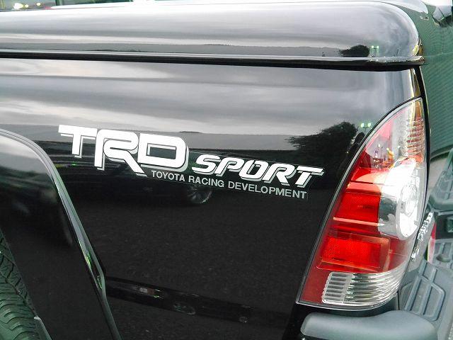 2014年モデル タコマWキャブTRDスポーツPKG