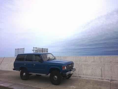 05ランクル60高萩海岸サーフポイント