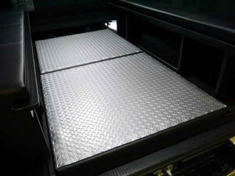 高崎店オリジナル:縞板調リバーシブルベッドマット