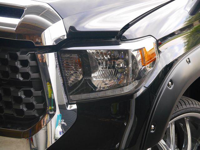 2018年モデル タンドラ SR5 ヘッドライト LEDデイライト