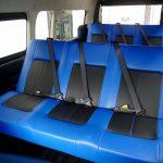 ワンオフFD-BOX3T:1500mm幅T-REVOシート【ブルー/ブラック】