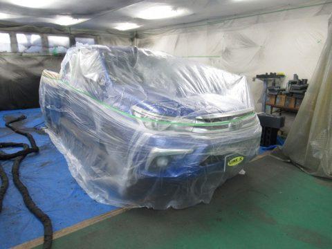 新型ハイラックス ラインX施工