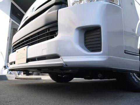 415コブラ:ショートリップスポイラー&アンダーフリッパー(マットブラック塗装)