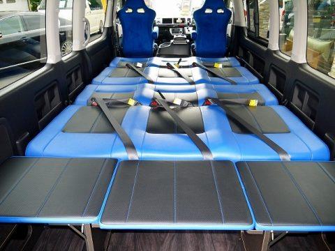 H27ハイエースワゴン グランドキャビン ワンオフFD-BOX3T
