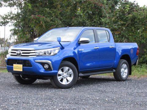 新型ハイラックス ピックアップトラック新車(ブルー)
