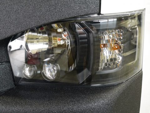 LINE-Xコンプリート:純正ヘッドライト インナーブラック塗装