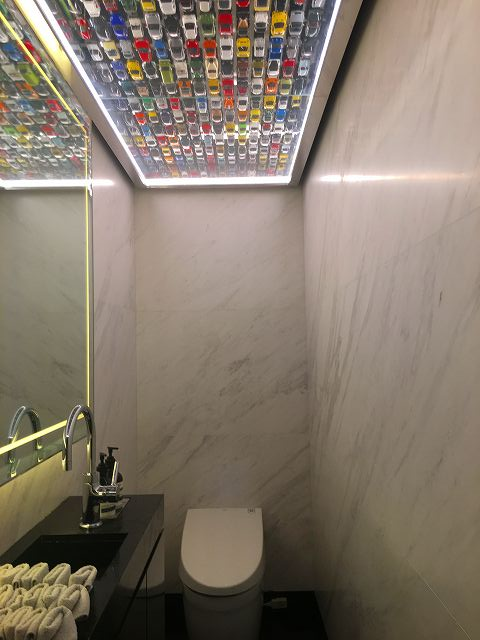ミニカー トイレ
