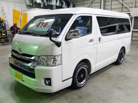 新車ハイエースワゴン GL 4WD FD-BOX0