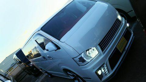 4型!ハイエースバン スーパーGL 4WD シルクブレイズコンプリートカー!!