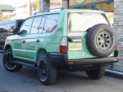 背面タイヤももちろん新品を取り付け
