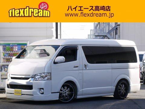 H27ハイエースワゴン GL フルエアロ【買取り直販】