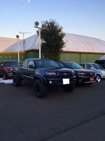 06y TACOMA access cab TRD sports PKG Dark Blue