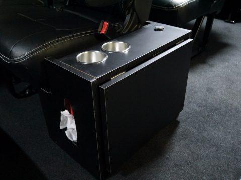 flexdream:ワゴン用 格納式サイドテーブル