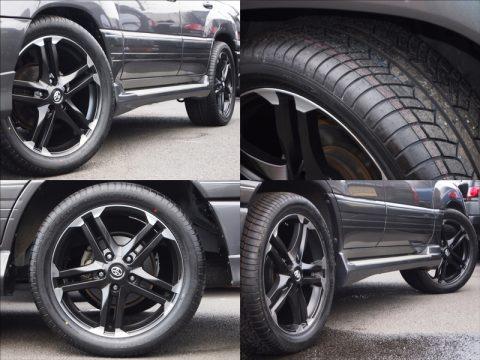 新品22インチアルミ&新品タイヤセット
