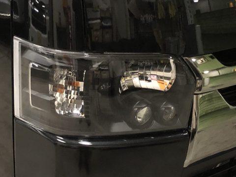 純正LEDヘッドライト:インナーブラックペイント