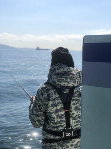釣り開始3